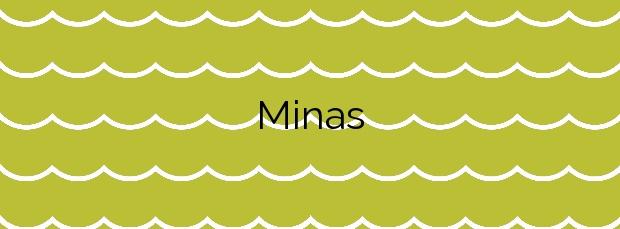 Información de la Playa Minas en Mazarrón