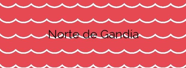 Información de la Playa Norte de Gandía en Gandia