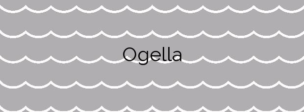 Información de la Playa Ogella en Ispaster