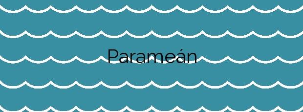 Información de la Playa Parameán en Muros