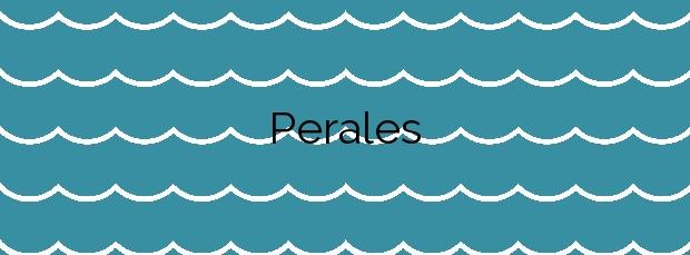 Información de la Playa Perales en L'Ampolla