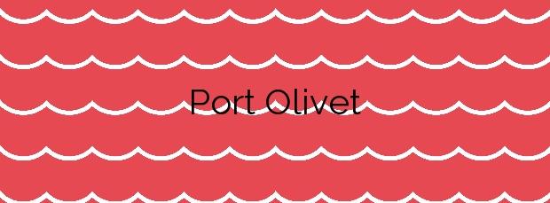 Información de la Playa Port Olivet en L'Ametlla de Mar