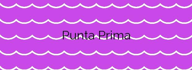Información de la Playa Punta Prima en Sant Lluís