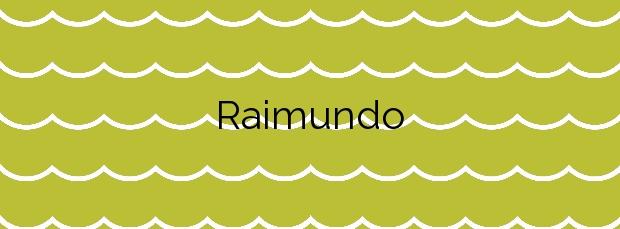 Información de la Playa Raimundo en Muros