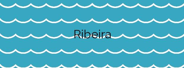 Información de la Playa Ribeira en Tui