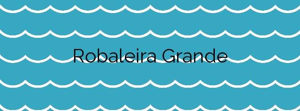 Información de la Playa Robaleira Grande en Bueu