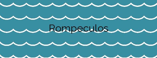 Información de la Playa Rompeculos en Moguer