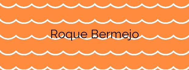 Información de la Playa Roque Bermejo en Santa Cruz de Tenerife