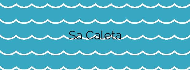 Información de la Playa Sa Caleta en Lloret de Mar