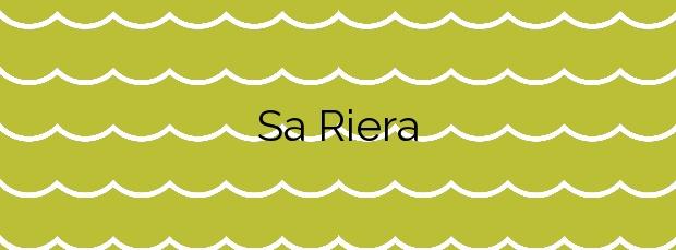 Información de la Playa Sa Riera en Begur