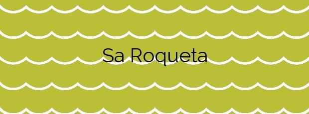 Información de la Playa Sa Roqueta en Formentera