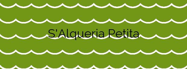 Información de la Playa S'Alqueria Petita en Cadaqués