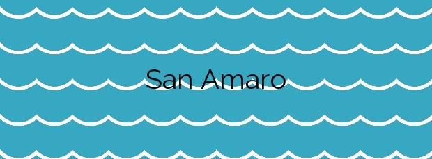 Información de la Playa San Amaro en Ceuta