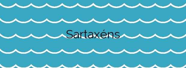 Información de la Playa Sartaxéns en Cangas