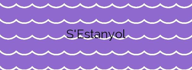 Información de la Playa S'Estanyol en Santa Eulalia del Río