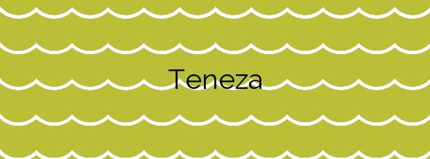 Información de la Playa Teneza en Tinajo