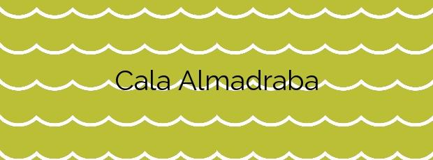Información de la Cala Almadraba en Benidorm