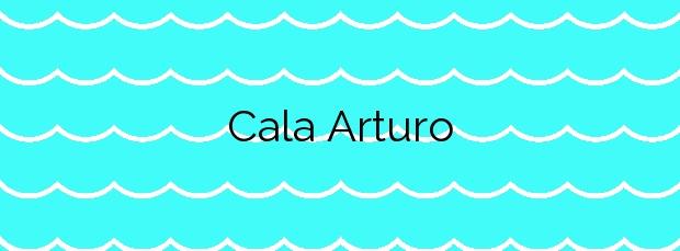 Información de la Cala Arturo en Cartagena