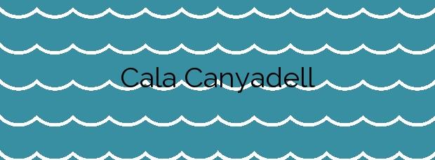 Información de la Cala Canyadell en Altafulla
