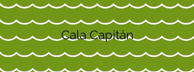 Información de la Cala Capitán en Orihuela