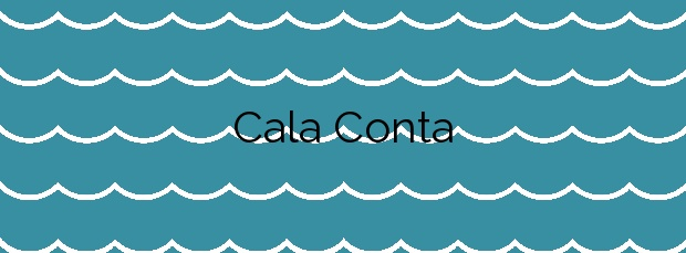 Información de la Cala Conta en Sant Josep de sa Talaia