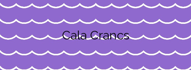 Información de la Cala Crancs en Salou
