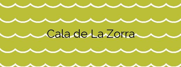 Información de la Cala de La Zorra en Torrevieja