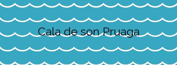 Información de la Cala de son Pruaga en Estellencs