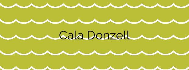 Información de la Cala Donzell en Palma de Mallorca