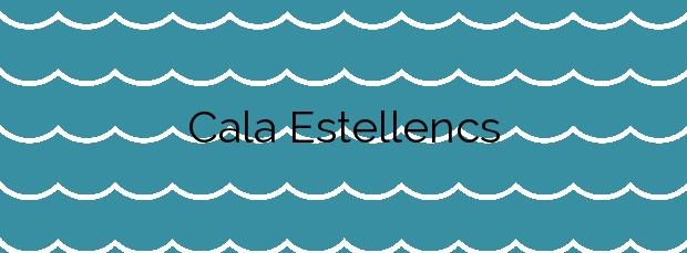 Información de la Cala Estellencs en Estellencs