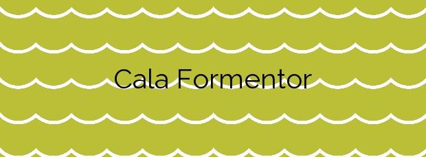 Información de la Cala Formentor en Pollença