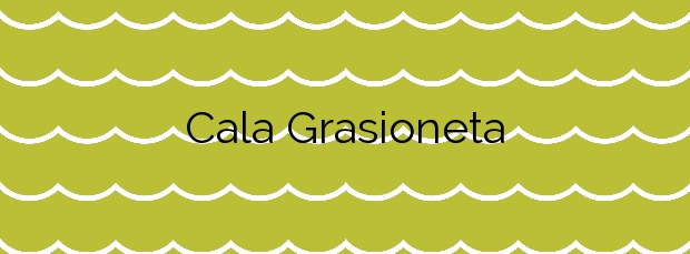 Información de la Cala Grasioneta en Sant Antoni de Portmany