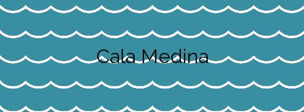 Información de la Cala Medina en Cartagena