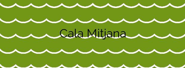 Información de la Cala Mitjana en Felanitx