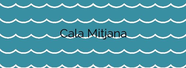 Información de la Cala Mitjana en Ferreries