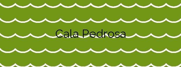Información de la Cala Pedrosa en Palafrugell