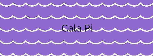 Información de la Cala Pi en Llucmajor