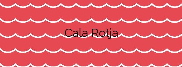 Información de la Cala Rotja en Santa Eulalia del Río