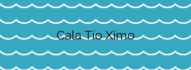 Información de la Cala Tío Ximo en Benidorm