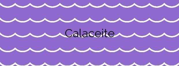 Información de la Calaceite en Torrox