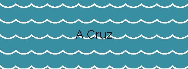 Información de la Playa A Cruz en A Illa de Arousa