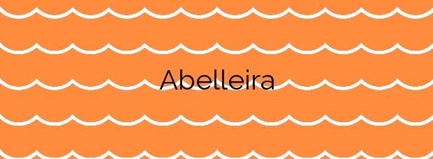 Información de la Playa Abelleira en O Grove