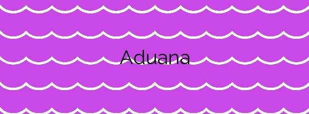 Información de la Playa Aduana en Vilanova de Arousa