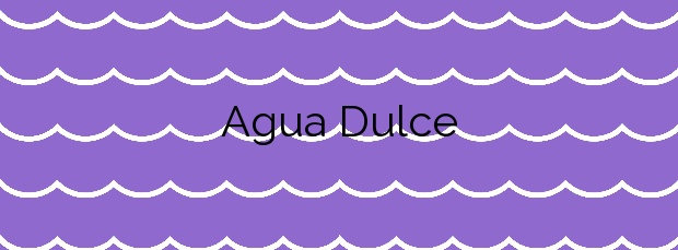 Información de la Playa Agua Dulce en Los Silos
