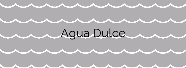 Información de la Playa Agua Dulce en Telde