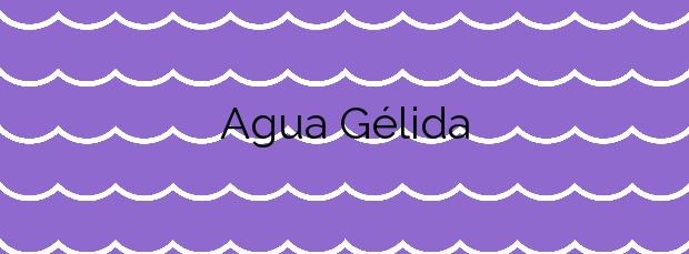 Información de la Playa Agua Gélida en Palafrugell