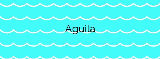 Información de la Playa Aguila en San Sebastián de la Gomera