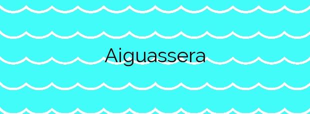 Información de la Playa Aiguassera en Sant Carles de la Ràpita
