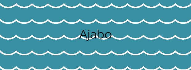Información de la Playa Ajabo en Adeje