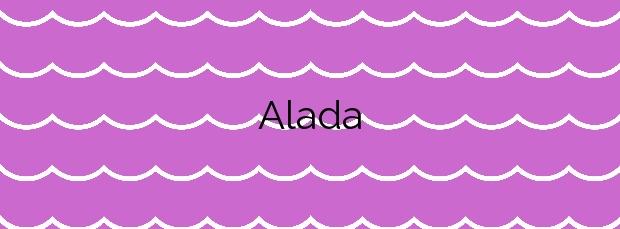 Información de la Playa Alada en Cangas